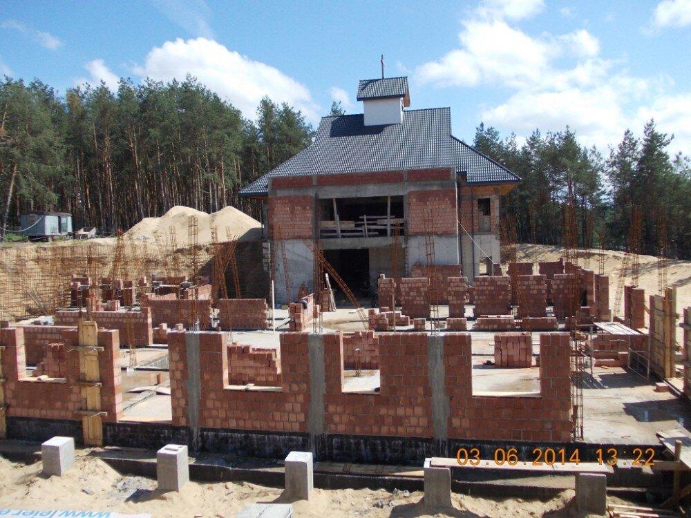 Budowa domu czerwiec 2014