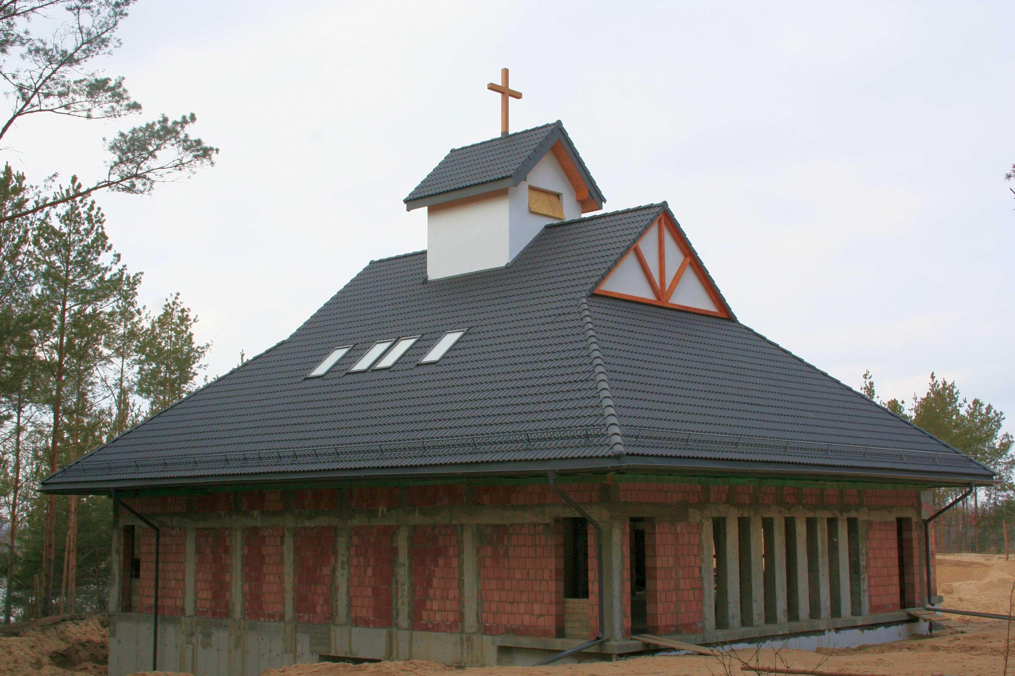 Budowa kaplicy_marzec 2012